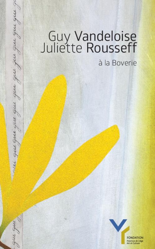 Guy Vandeloise - Juliette Roussef à la Boverie
